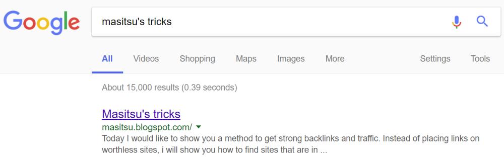 masitsu's google